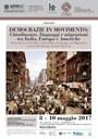 Democrazie in movimento:  Cittadinanze, linguaggi e migrazioni tra Italia, Europa e Americhe