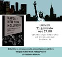 "Presentazione del libro ""Napoli / New York / Hollywood"""
